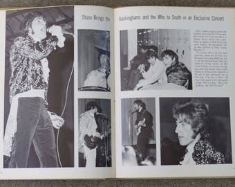 The Who Concert @ Shawnee Mission South Overland Park KS 1968 High School Yearbook Roger Daltrey Pete Townshend