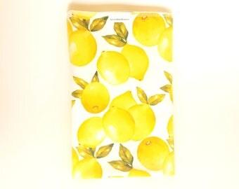 Yellow Lemon Swaddle Blanket / Baby Shower Gift / Lemon Receiving Blanket / Newborn Swaddle Blanket / Newborn Swaddles