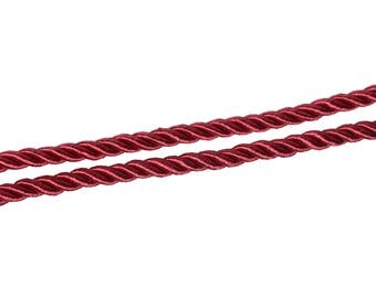 2 m of 5 mm - red polyester cord