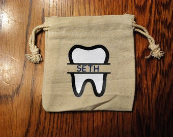 Tooth Fairy Bag - Personalized with Name