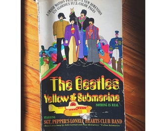 1st Edition of The Beatles' Yellow Submarine