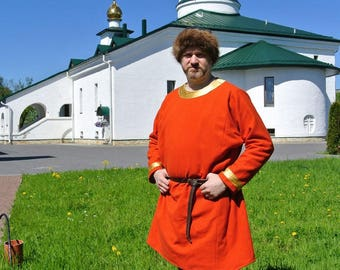 Men's Slavic tunic