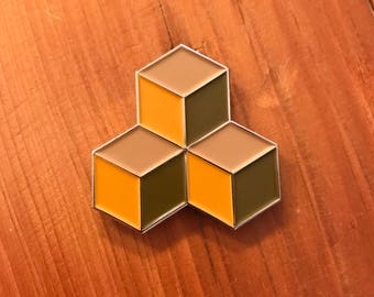 M. C. Escher soft enamel lapel pin