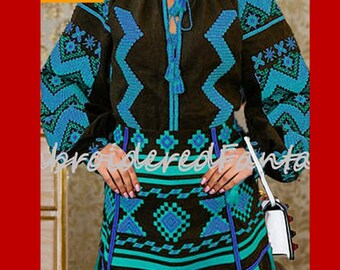 Vita kin style, Vyshyvanka embroidered blouse, Ukrainian vyshyvanka, Ukrainian Embroidery, Linen Blouse, Bohemian style, Linen Ethno top