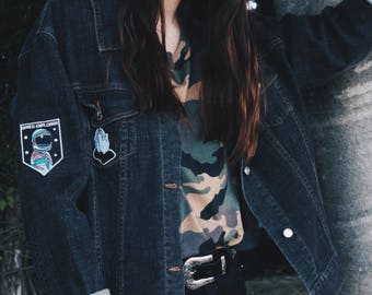 Patched babe