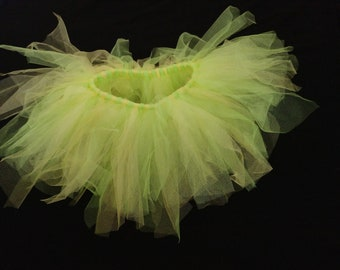 Green and Yellow Spring Chick Tutu