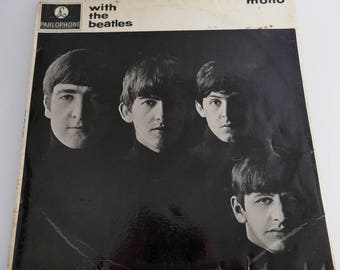 The Beatles - 'With The Beatles' Vintage 1963 Vinyl Album