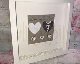 Bride & Groom Personalised Frame