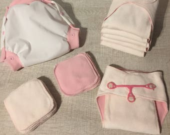 set of 6 contours layers washable newborn