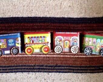 Vintage Train Tins