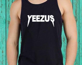Yeezus Shirt-Yeezus Hoodie- Tour Yeezus Unisex Tanks shirt-Yeezy-DEEZ NUTS,Ugly Christmas Sweater