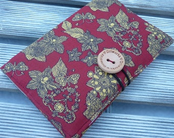 Fabric Passport cover, Passport holder, Passport wallet, Passport Case, Travel gift, gift for her,  Holds 1 or 2 passports
