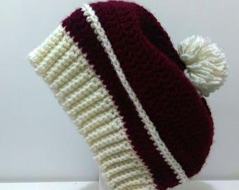 Women's Winter Crochet Beanie/Hat