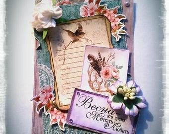 """Card """"La Primavera"""""""