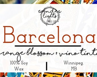 Barcelona - A Wanderlust Inspired Soy Candle