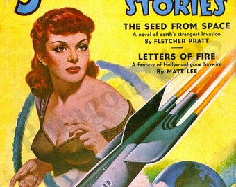 Startling Stories May 1951 Issue Volume 23 Number 2 Pulp Magazine