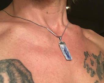 Blue Kyanite Necklace