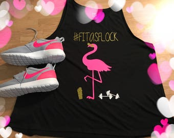 Fit as flock: ladies cut tank top