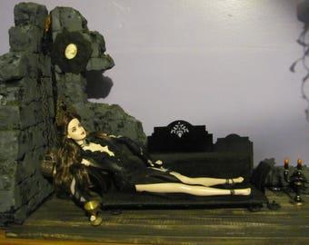 OOAK Barbie Delvira Doll 35