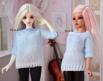 Minifee/ MSD /Unoa/Narae/Peakswoods hand knitted Ombre Pullover