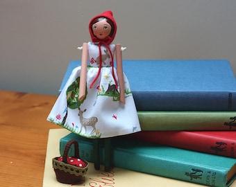 Little Darling Woodland Art Doll
