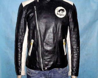 vintage FURYGAN leather motorcycle jacket size 46