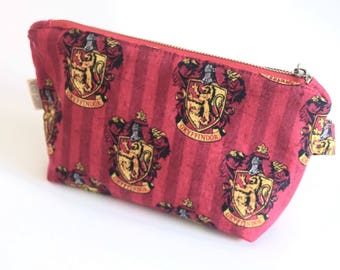 Gryffindor // Makeup Pouch // Harry Potter