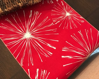 4th of July Table Runner   Winter Table Decor   Patriotic Table Runner   Snowflake Table Runner   Red White   Patriotic Table Decor