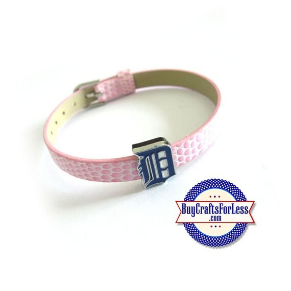 DETROIT TIGERS Charm for 8mm Slider Bracelets, Collars, Key Rings +FREE Shipping & Discounts*
