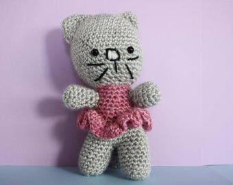 Sally the Cat - Crochet Toy