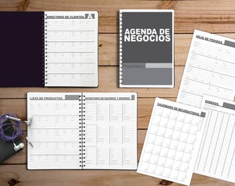 Business agenda to edit Illustrator Base