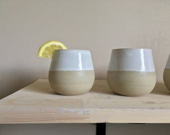 Stoneware Tumbler | Wine Cup | Pottery And Ceramics | Pottery