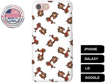 Scooter Phone Case, Phone Case Scooter, Scooter iPhone Case, Scooter Galaxy Case, iPhone 5S Case, iPhone 6 Plus Case, iPhone 6S, Galaxy S5