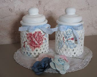 The old Shabby chic style bottle