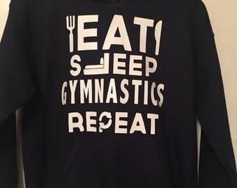 Gymnastics / Acro / Tumbling / Cheerleading / Dancer / Ballet Hoodie