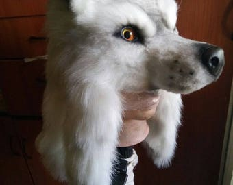 cosplay Hanzo okami wolf hat from overwatch
