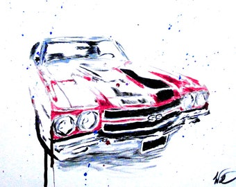 Chevelle SS Painting