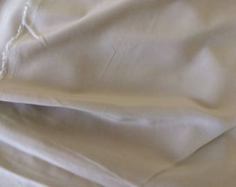 Fabric crepe smooth taupe color