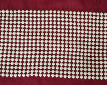Ribbon half Pearl 5 mm 18 rows which is 11 cm wide