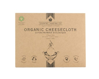 Country Trading Co Organic Cheesecloth - GOTS Certified