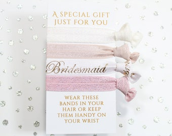 Gift for Bridesmaid - Bridesmaid bracelet - Bridesmaid Hair - Bridesmaid Proposal - Bridesmaid Gift - Wedding Hair - Wedding accessories