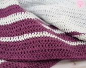 The Me-Time Crochet Throw (PATTERN ONLY)