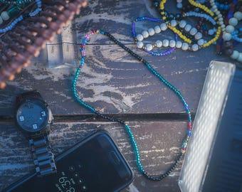 Glass Seed Bead Stretch Wrap Around Bracelets