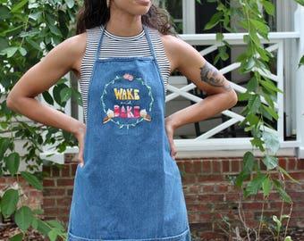 Baker's Apron/ Baking apron/ Denim apron