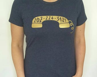 Capitol Switchboard Phone Number -- T-Shirt