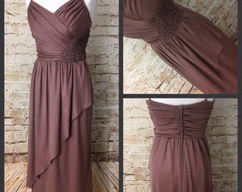 SALE! Gorgeous vintage drape dress