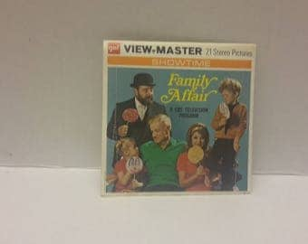 family affair 1969 viewmaster set Brian keith