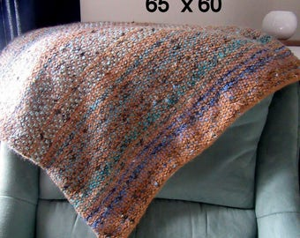 small blanket woven effect