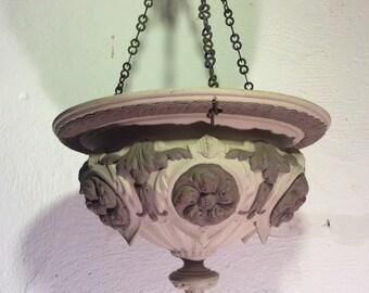 Sarreguemine Hanging Ornament-Plant holder
