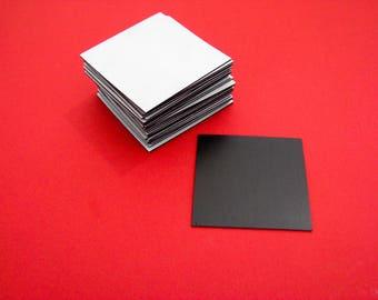 "Self adhesive magnet square 1.5"" (30 pack) , crafting magnet, photo magnet, project magnet, flexible magnet"